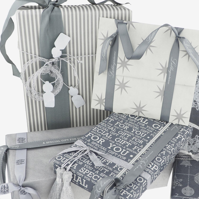 geschenkverpackung-geschenkpapier-anthrazit-creme-silber